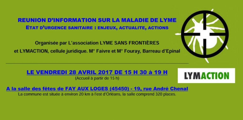 LSF et LYMACTION dans le Loiret