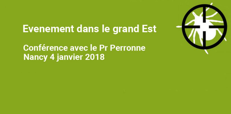 A NE PAS MANQUER : RENCONTRE AUTOUR DU Pr PERRONNE LE 4 JANVIER 2018 à NANCY (54)