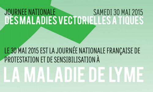 WORLD WIDE LYME PROTEST : 30 mai 2015