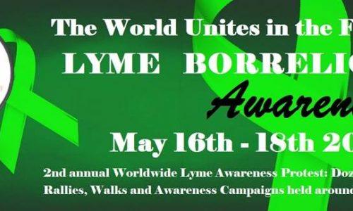 Worldwide Lyme Protest  17 MAI 2014 à Paris