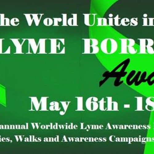 Worldwide Lyme Protest  17 MAI 2014 à Paris