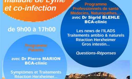 Journée de formation maladie de Lyme et co-infection