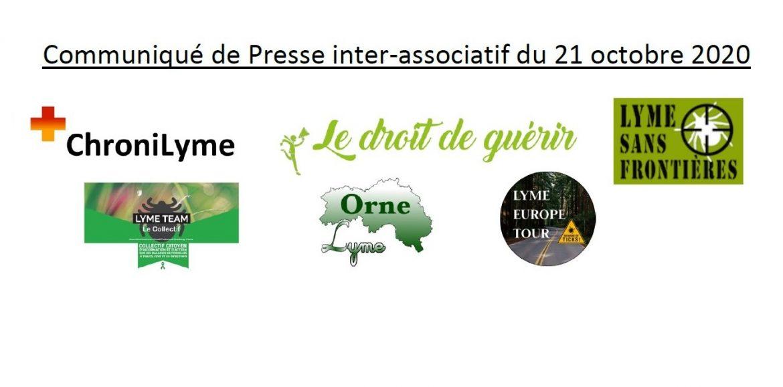"""L'Inter – Associatif des malades de """" Lyme """" et  MVT  en ÉTAT DE CHOC après l'éviction du Pr PERRONNE par la FFMVT le 19/10/2020 !"""