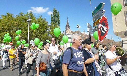 Reportage | Manifestation à Strasbourg contre le déni de la borréliose de Lyme