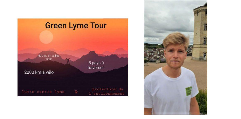 Green Lyme Tour 10 juillet 2020 : Journée de route verte dédiée aux malades de Lyme, le message d'espoir de Kilian à l'attention du député vosgien Stéphane Viry