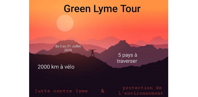 GREEN LYME TOUR 2020 a un message très important à vous faire passer…