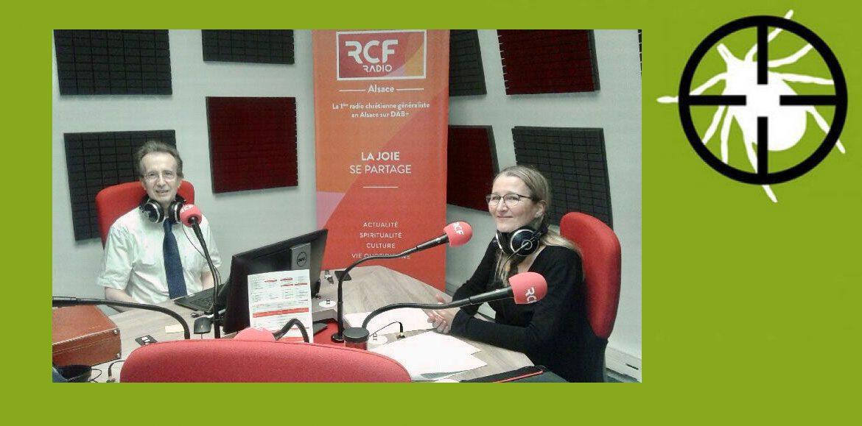 Le témoignage bouleversant de Valérie Colom-Bisbal co-présidente de Lyme Team, adhérente de LSF, invitée du Docteur Stéphane Gayet pour RCF le 19-11-2019