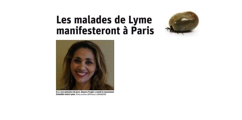 """#EnsembleContreLyme """"Les malades de Lyme manifesteront à Paris"""" mercredi 3 juillet 2019"""