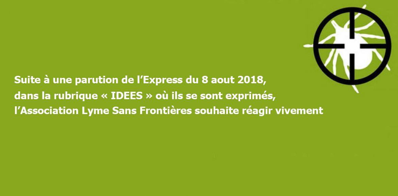 """Réponse de Viviane Schaller au """"Lyme ça suffit !"""" des Professeurs Gentilini et Bricaire"""
