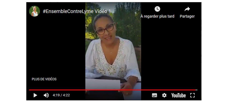 Tous #EnsembleContreLyme avec Nassera Frugier – Rassemblement Pacifique mercredi 3 juillet 2019 (vidéo n°1)