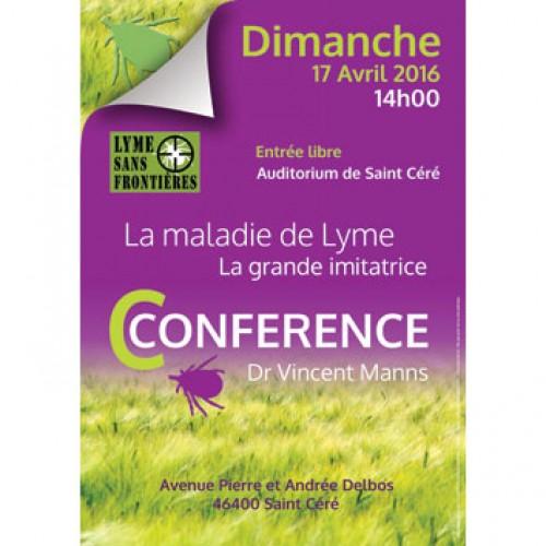Conférence Maladie de Lyme La grande imitatrice