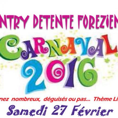 Soirée de Carnaval au profit de LSF  à Feurs (42 : Loire)