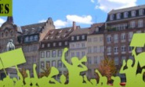 L'IPSN manifeste à Strasbourg avec Lyme Sans Frontières