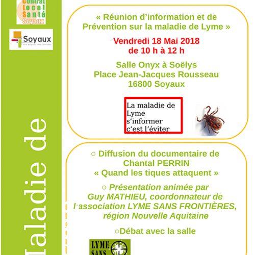 Réunion d'information et de Prévention sur la maladie de Lyme