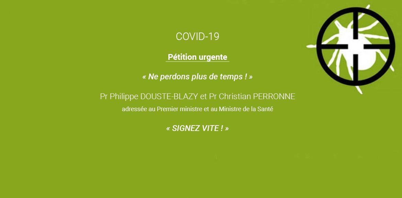 « NE PERDONS PLUS DE TEMPS ! » SIGNEZ VITE la pétition du Collectif 3 avril 2020 adressée à Édouard Philippe (Premier Ministre) et à Olivier Véran (Ministre de la santé)