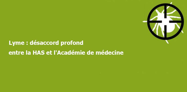 Lyme : désaccord profond entre la HAS et l'Académie de médecine