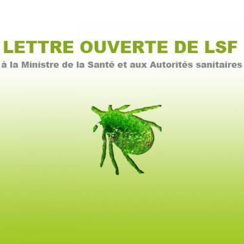 LETTRE OUVERTE DE LSF à la Ministre de la Santé et aux Autorités sanitaires suite à la réunion du 21 mars.