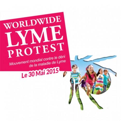 Journée mondiale contre la maladie de Lyme – Worldwide Lyme Protest
